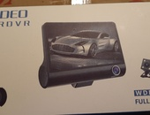 3 channel dash cam..new