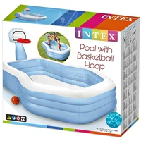 Intex Pool with Basketball Hoop