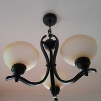 3 piece Chandelier Set with 3, 6 & 9 bulbs.