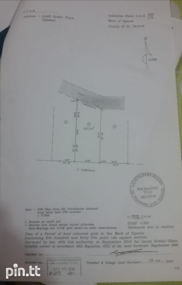 Approved land in Fyzabad-1