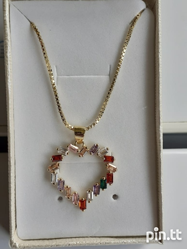 Gold filled chain and pendant-2