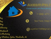 Akeem Peltier Construction and Remodeling Services