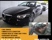 BMW 6-Series, 2009, PCP