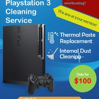 PlayStation 3 Cleaning