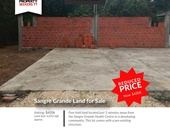 Sangre Grande Residential Freehold Land w/ Foundation