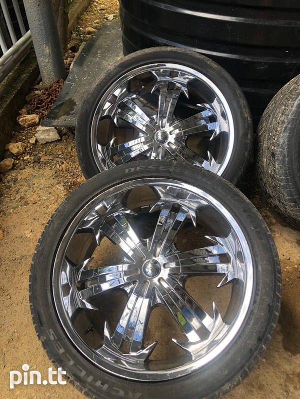 Rims and Tyres Good Condition-1