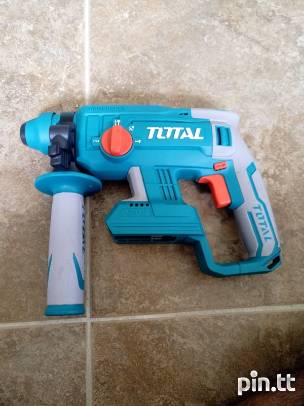 Total Cordless Rotary Hammer Drill-3