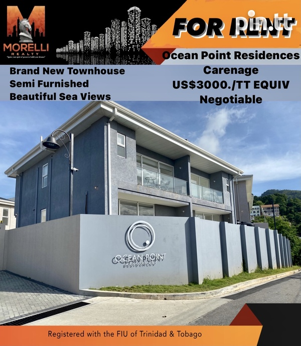 Ocean Point Residences, Carenage with 3 Bedrooms-1