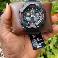 Authentic Gshock Watch Model No. G-100-1A4DR