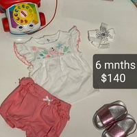 Girls new clothes 3 to 12 months