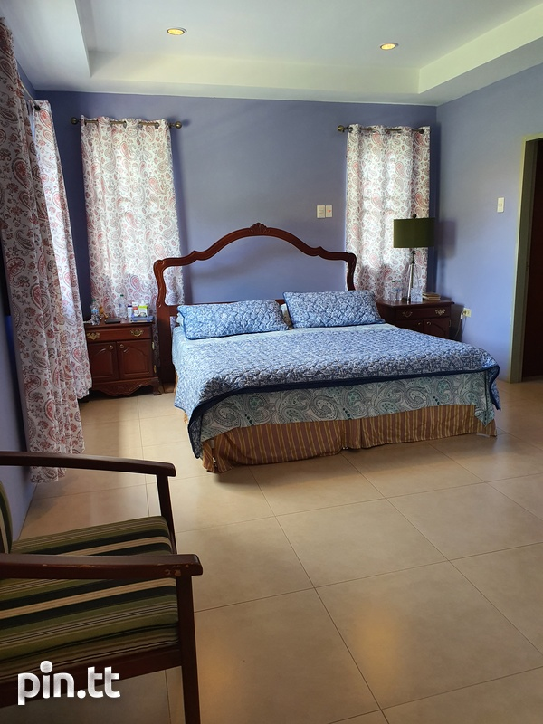 St.Joseph, Chaconia Terrace 4 Bedroom House-14