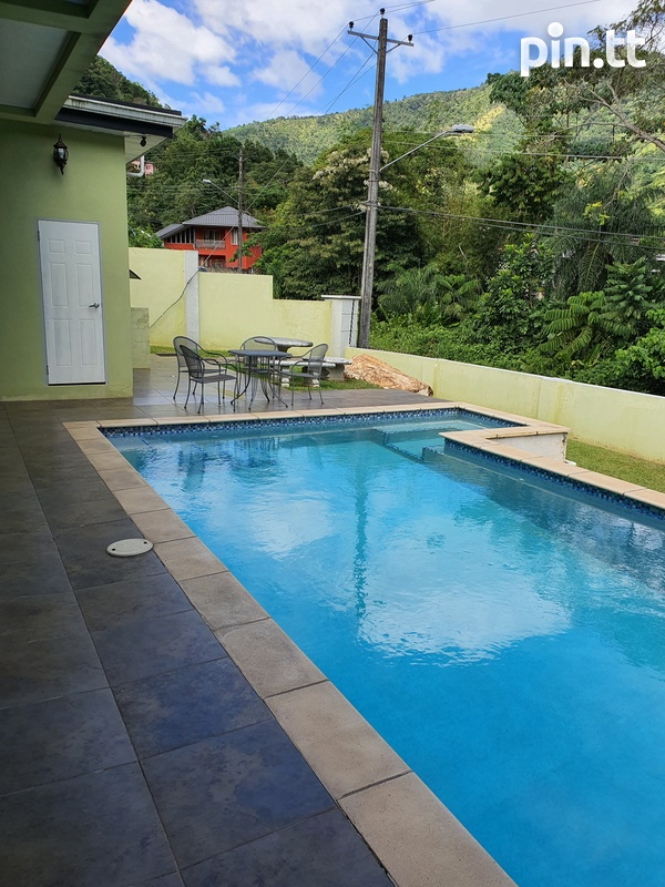 St.Joseph, Chaconia Terrace 4 Bedroom House-9