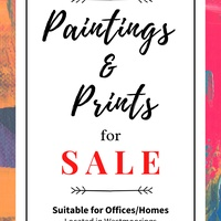 Paintings and Prints- Available Now