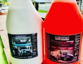 Foam Wash Touchless And Tyre Shine Concentrate Degreaser