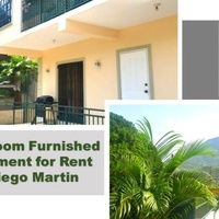 Furnished 2 Bedroom Apartment in Diego Martin