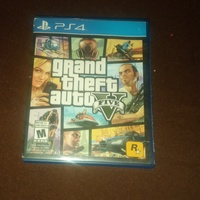 GTA V for PS4 no scratches
