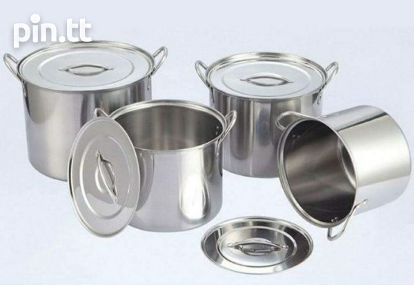 4 PC Stainless Steel Pot Set-1