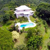 TOBAGO PLANTATION STYLE VILLA OWNED BY A COMPANY