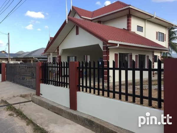 Cunupia 3 Bedroom Split Level House on 2 Lots-2