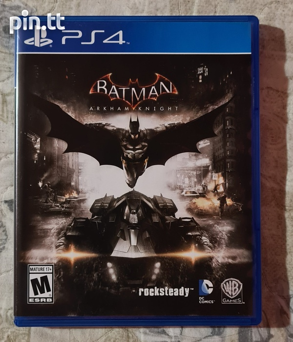 Batman Arkham Knight - PS4 Game-1