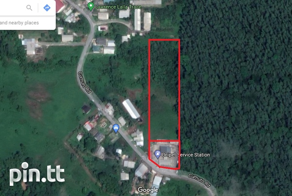 Cumuto Gas Station with 4 Acres Commercial Land-2