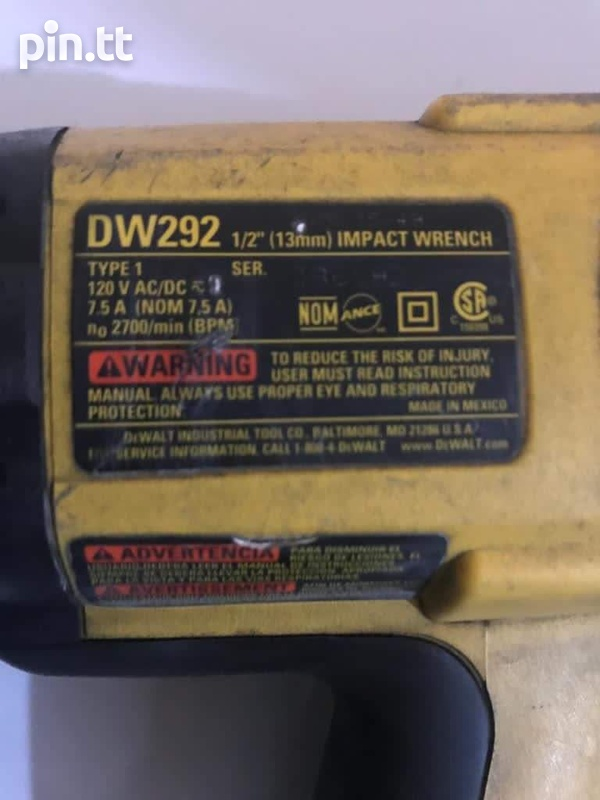 Launch Scan Tool and Dewalt Impact Wrench-4