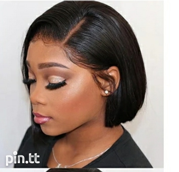 Lace front human hair wig 10 inch-2