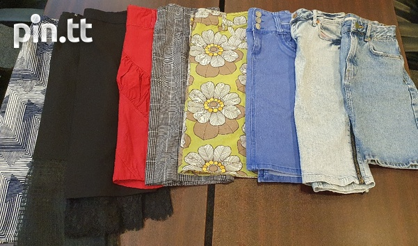 Womens Skirts. Size small and medium