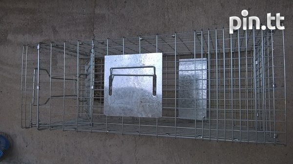 Animal Trap Large Rodent Steel Cage-2