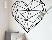 3D Wall Heart Sticker