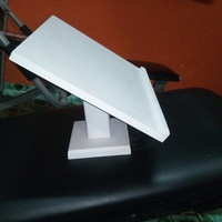 PVC book stand to study