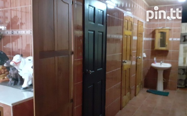 COUVA, 3 Bedroom House with Bonus Features-4