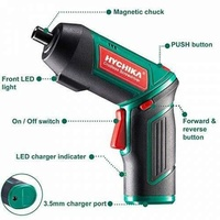 New Dual Position Reversibe Cordless Screwdriver. 20 Bits and charger included.
