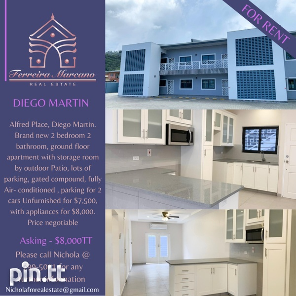 DIEGO MARTIN APT WITH 2 BEDROOMS-1