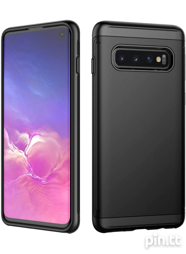 JETech Case for Samsung Galaxy S10 Dual Layer Protective Cover-1
