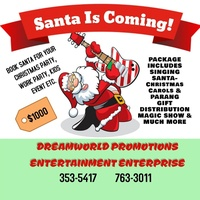 Get Santa Claus for your Christmas Party