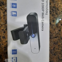 1080 P Webcam with Microphone NEW