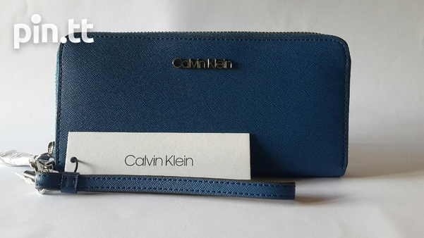Calvin Klein zip around wallet/wristlet-1