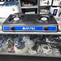 Double Burner Gas Stove Brand New with Warranty