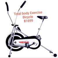 Weslo total body exercise bicycle