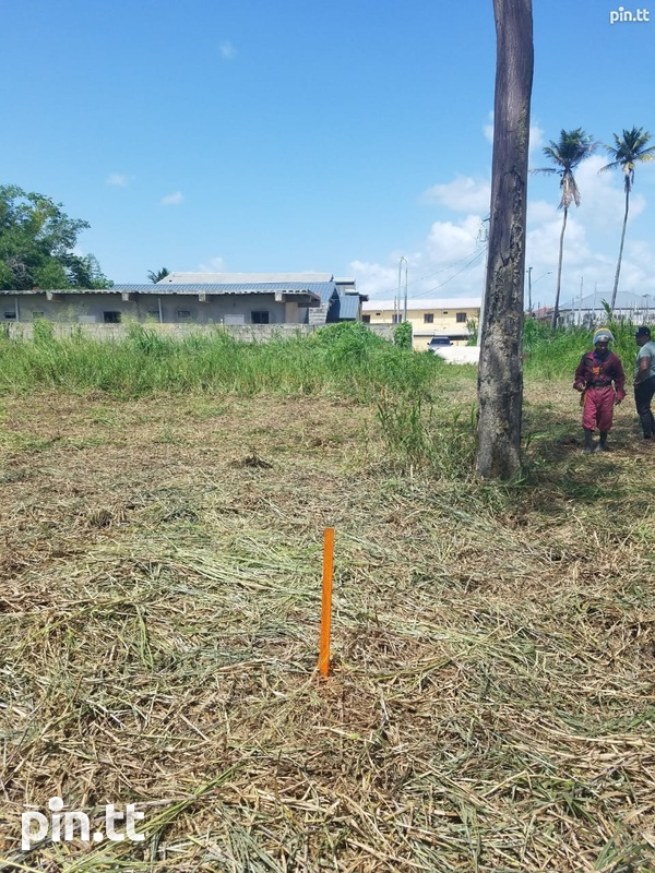 5600 SQF Land, Factory Road, Piarco-1