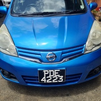 Nissan Note, 2014, PDE