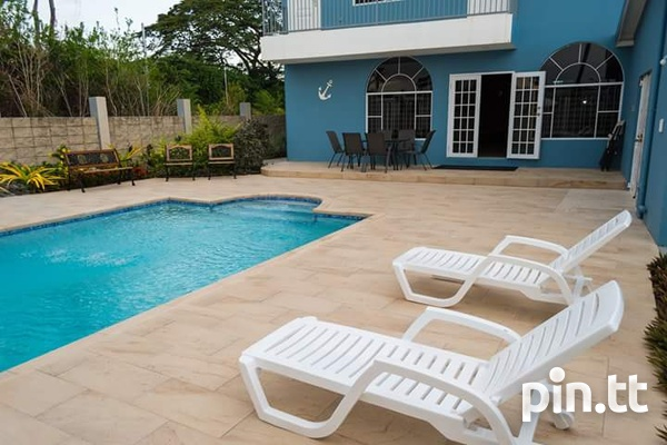 Tobago 4 bedroom house with pool-2