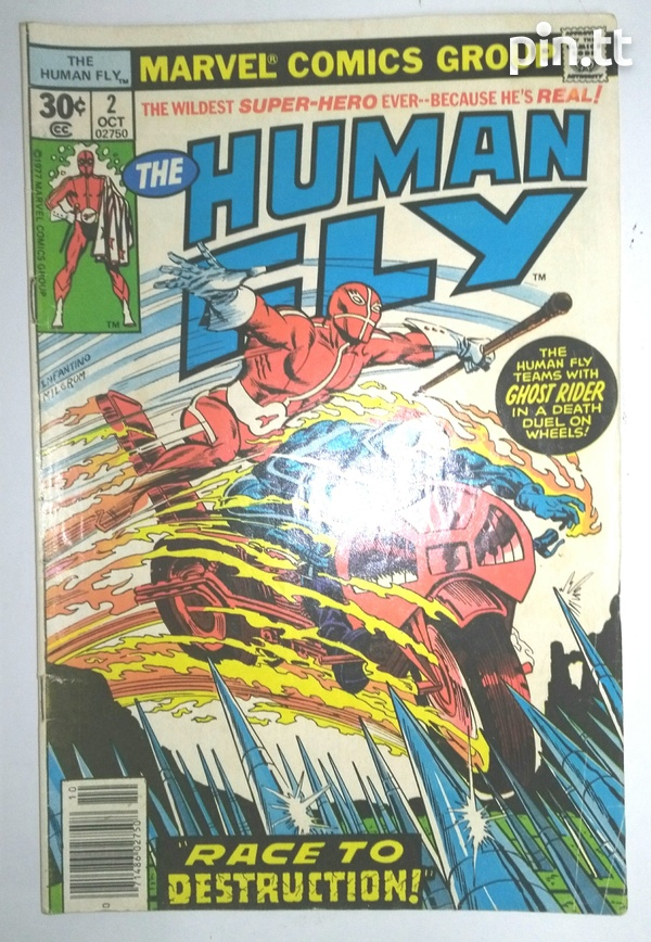The Human Fly Comic Book Collection-2