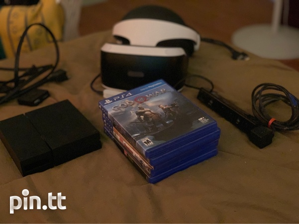 PlayStation VR with Camera and all adapters-2