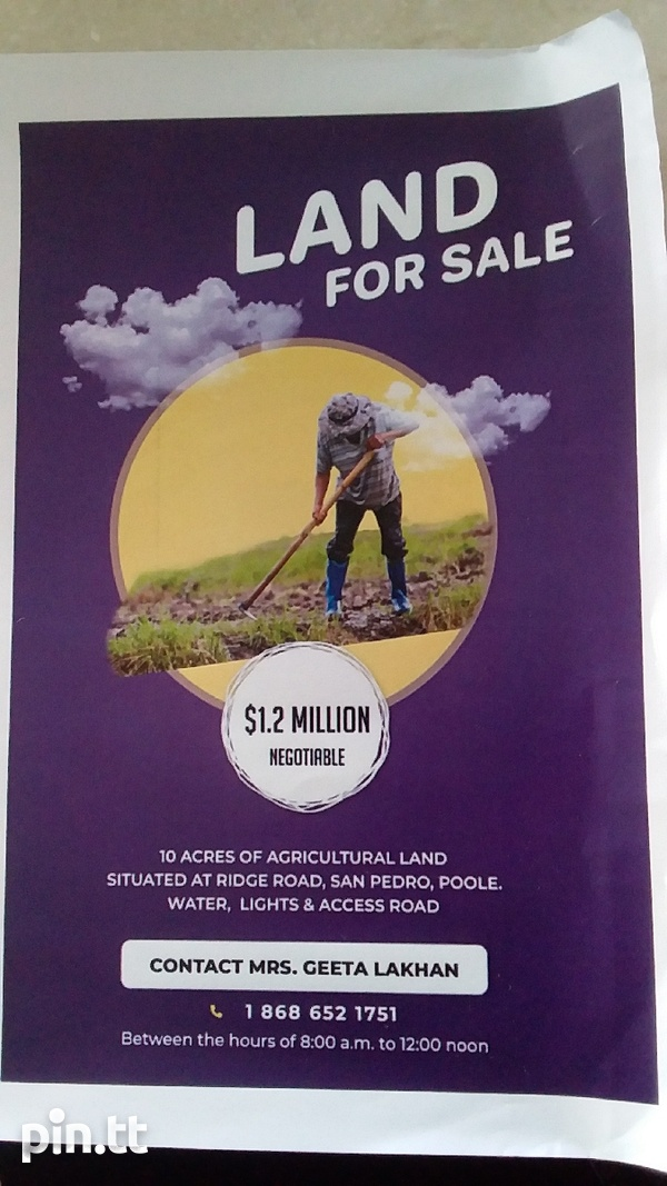 10 Acre Agricultural Land