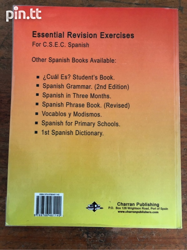 Essential Revision Exercises For CSEC Spanish-2
