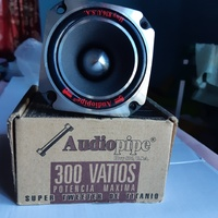 Audiopipe 300 watts titanum heavyduty pair of tweeters