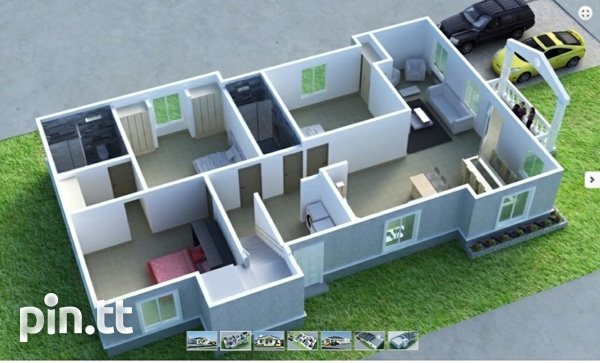 New 3 bedroom house in gated community in Chaguanas-4