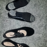 2 pairs tap dance shoes